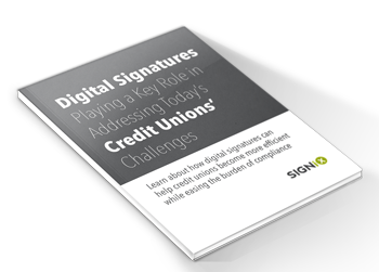 digital signatures for credit unions