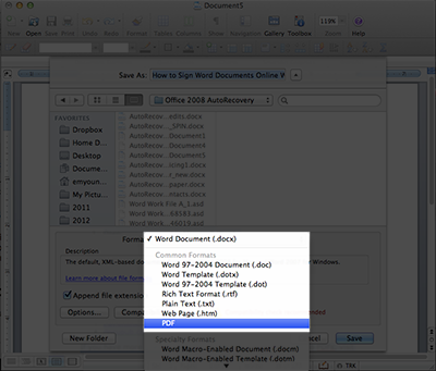 How to Sign Microsoft Word Documents Online With MyDoX