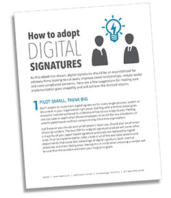 how to adopt digital signatures