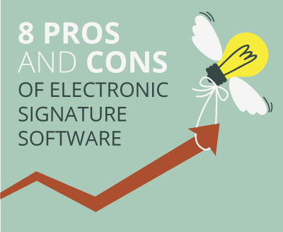 8 Pros and Cons of Electronic Signature Software
