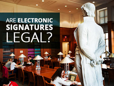 Are Electronic Signatures Legal?