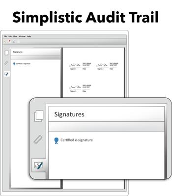 simplistic audit trail
