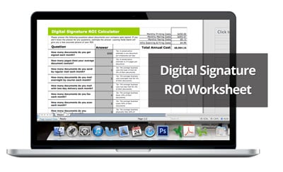 roi of digital signatures