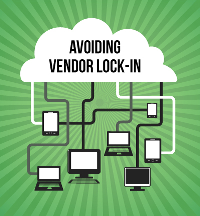 vendor lock in cloud software
