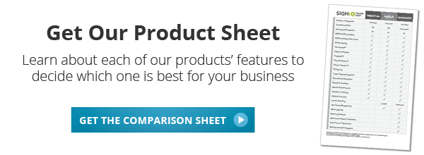 Get SIGNiX's Product Comparison Sheet
