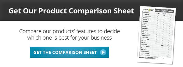 Get SIGNiX's Product Comparison Sheet