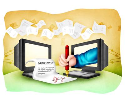 adopt digital signatures