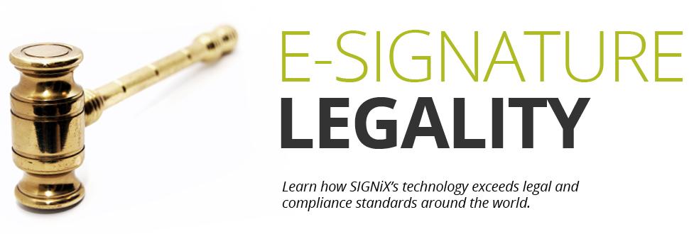 digital signature legality