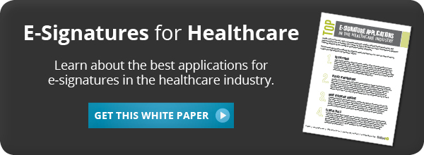 Download Our White Paper to Learn About E-Signatures for Healthcare