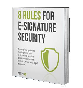 esignature security ebook
