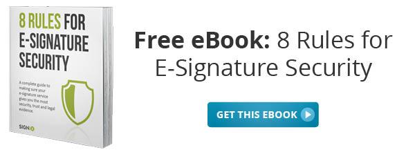 Free e-signature security eBook