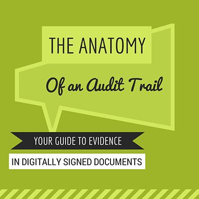 digital signature audit trail