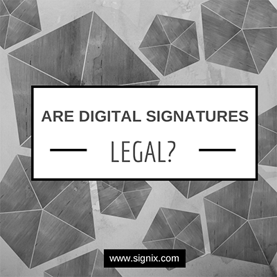 digital signature legal
