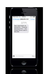text authentication
