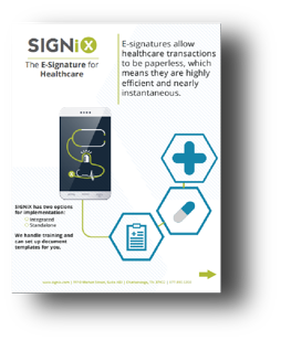 The E-Signature for Healthcare