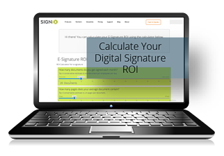 digital signature roi calculator