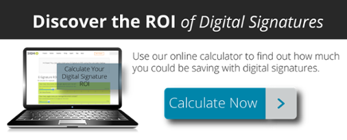 ROI of Digital Signatures Cal