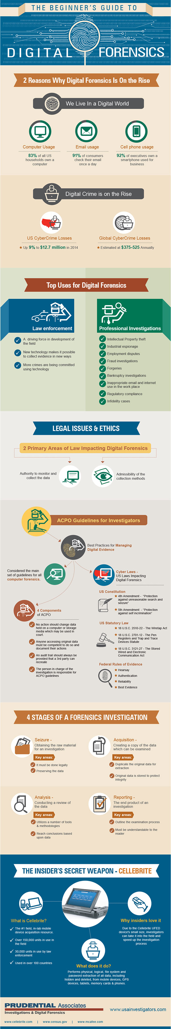 [Infographic] Independent E-Signatures and Digital Forensics