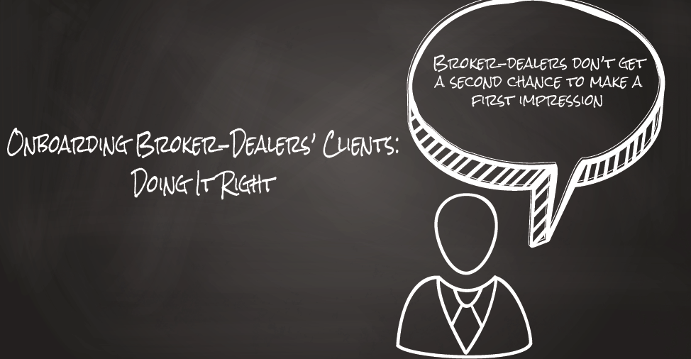 [Infographic] Onboarding Broker-Dealers' Clients – Doing It Right
